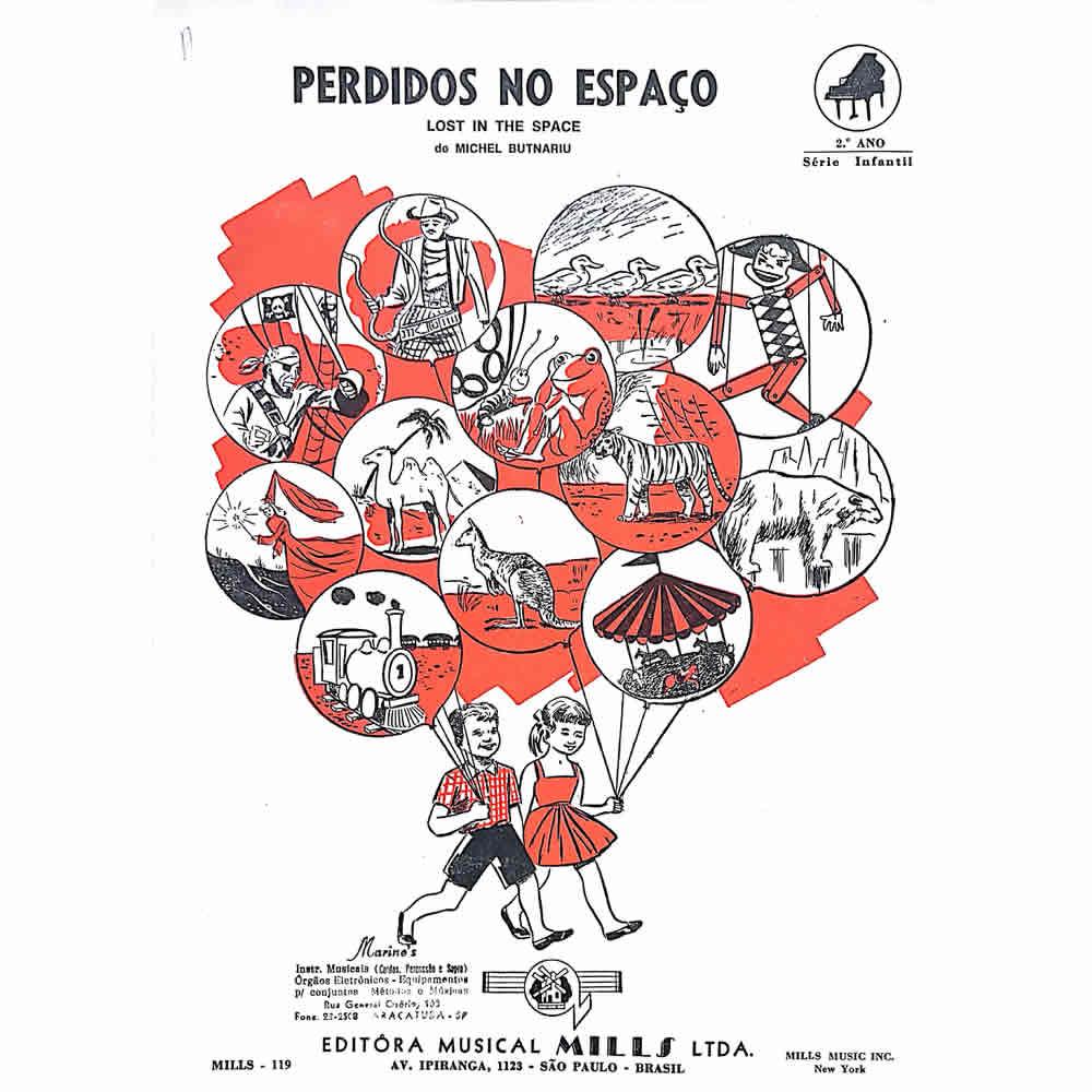 Método Partitura Piano - PERDIDOS NO ESPAÇO - Michel Butnariu