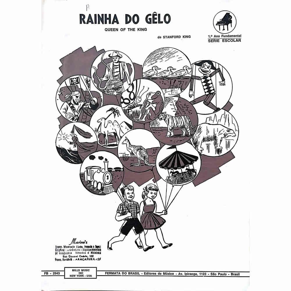 Método Partitura Piano - RAINHA DO GELO - Stanford King