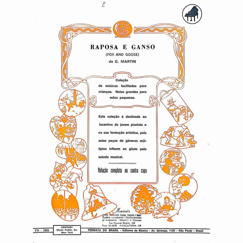 Método Partitura Piano - RAPOSA E GANSO - G. Martin