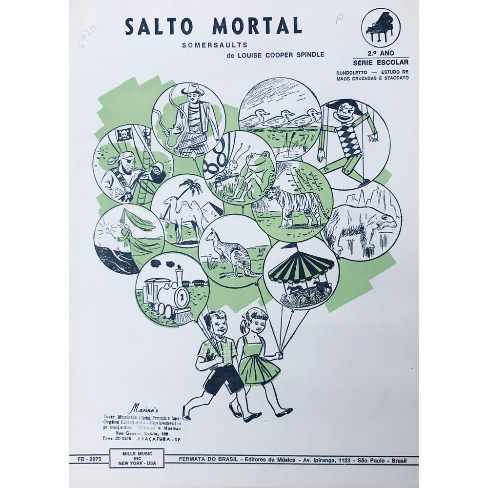 Método Partitura Piano - SALTO MORTAL - Louse Cooper Spindle
