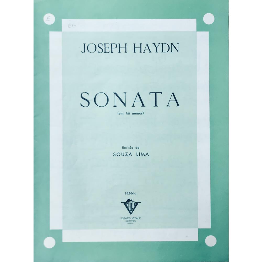 Método Partitura Piano - Sonata em Mi Menor- Joseph Haydn
