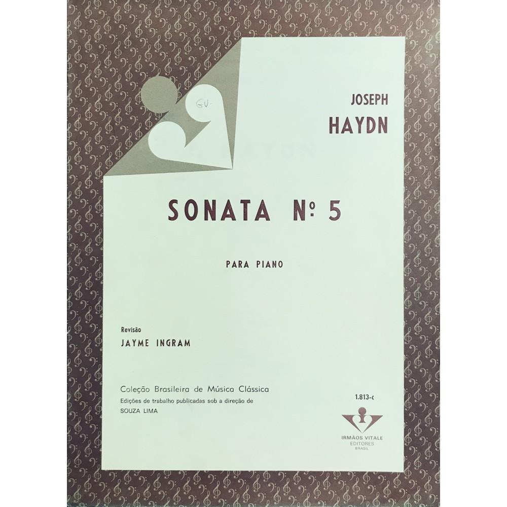 Método Partitura Piano - Sonata Nº 5 - Joseph Haydn