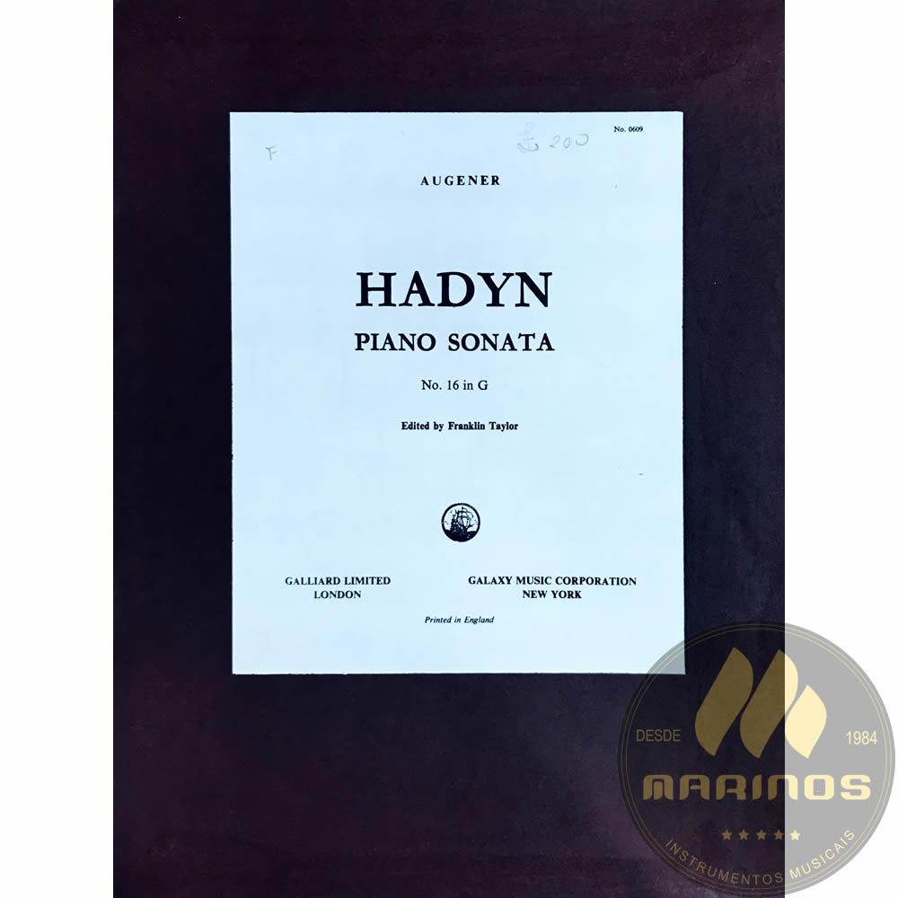 Método Partitura Piano - Sonata XVI 16 in G - Joseph Haydn