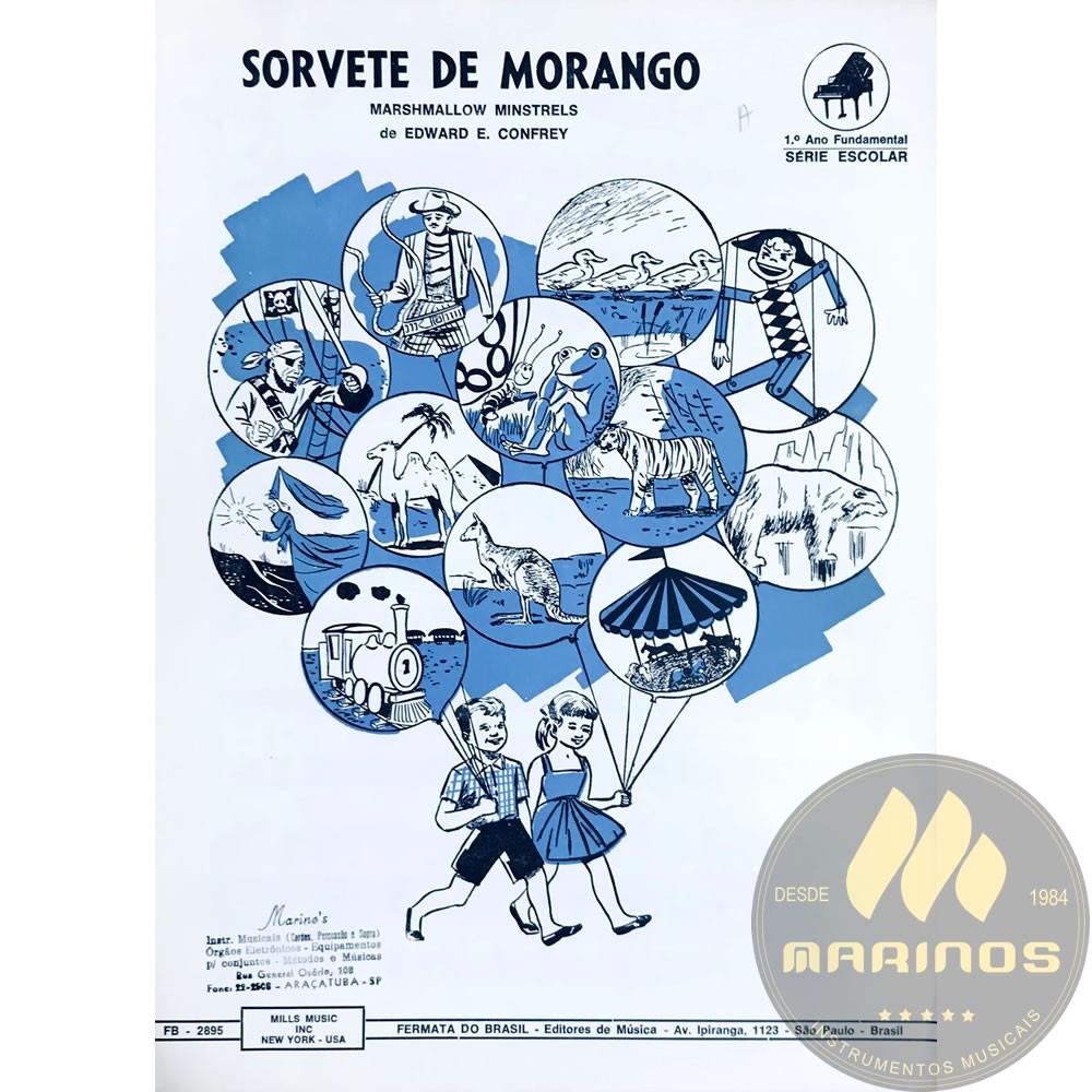 Método Partitura Piano - SORVETE DE MORANGO - Edward E. Confrey