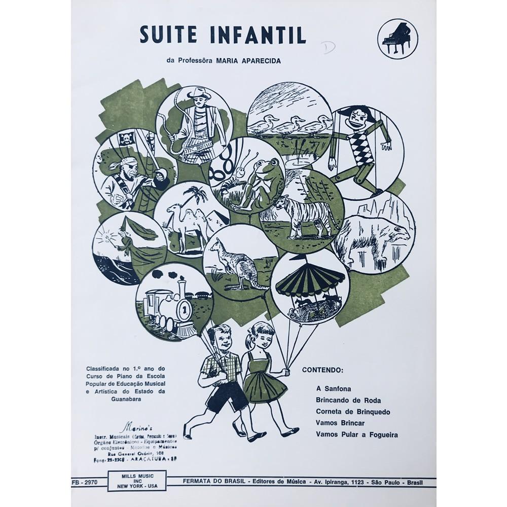 Método Partitura Piano - SUITE INFANTIL - Professora Maria Aparecida