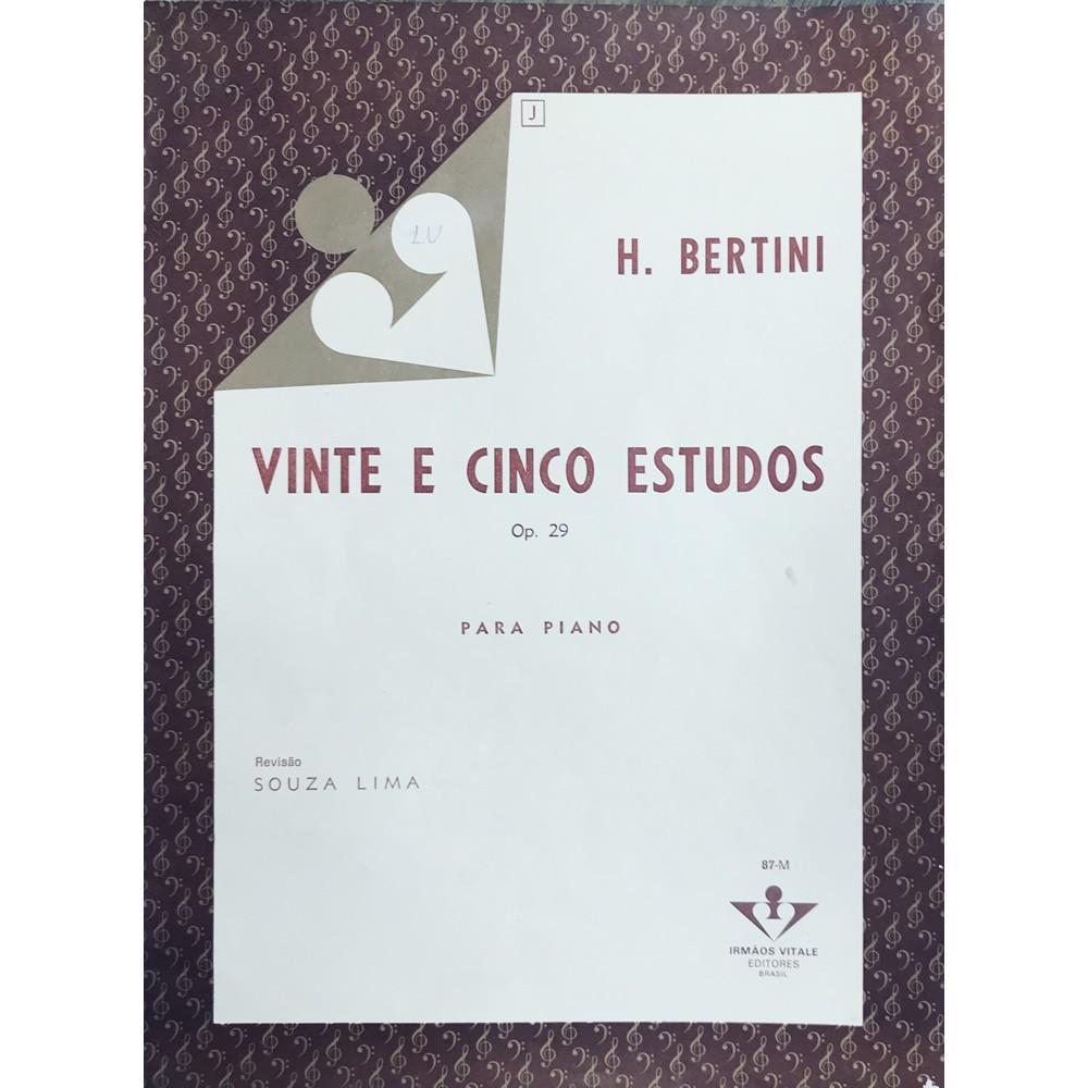 Método Piano - 25 Estudos Op.29 - H. Bertini