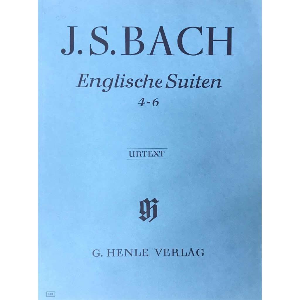 Método Piano - Englische Suiten 4 - 6 BWV 809-811 - J.S. Bach