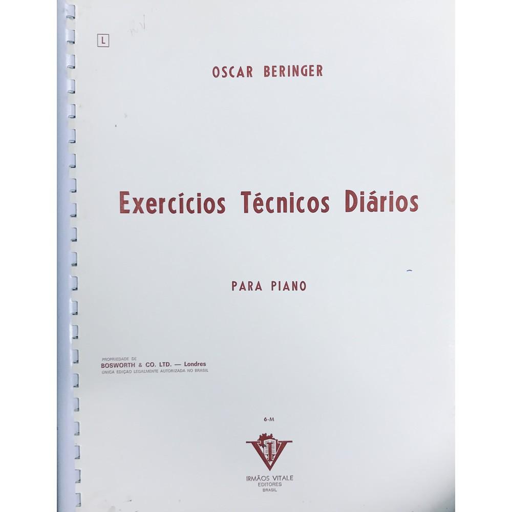 Método Piano - Exercícios Técnicos Diários - Oscar Beringer