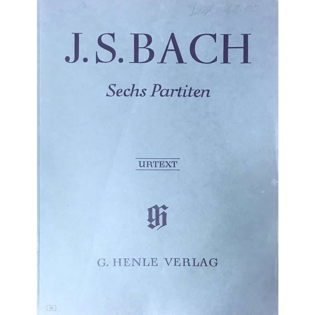 Método Piano - Sechs Partiten BWV 825-830 J.S. Bach
