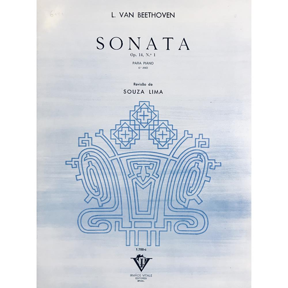 Método Piano - Sonata Op.14  n. 1 (6º ano) - L. Van Beethoven