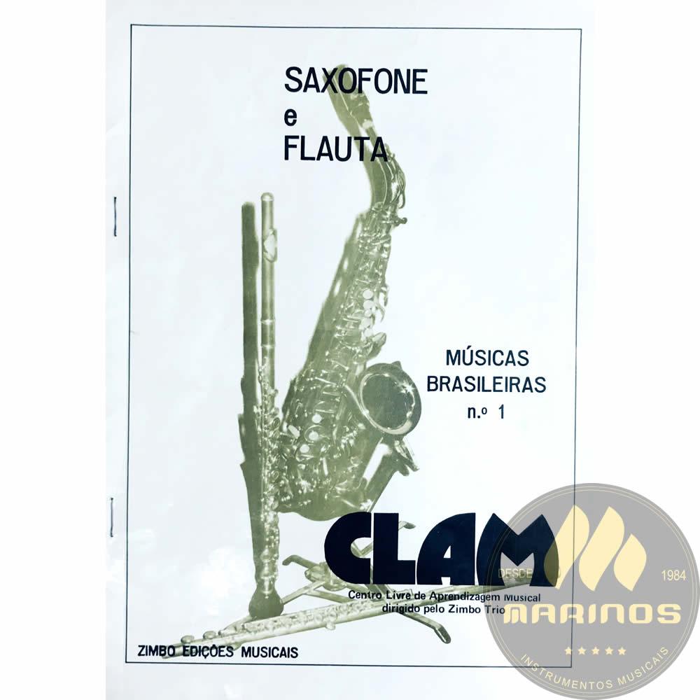 Método Saxofone e Flauta - Músicas Brasileiras Nº 1 - Zimbo Trio