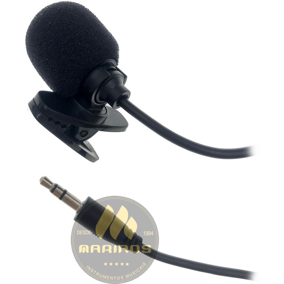Microfone de Lapela SOUNDVOICE Celular Smartphone Lite SOUNDCASTING 200