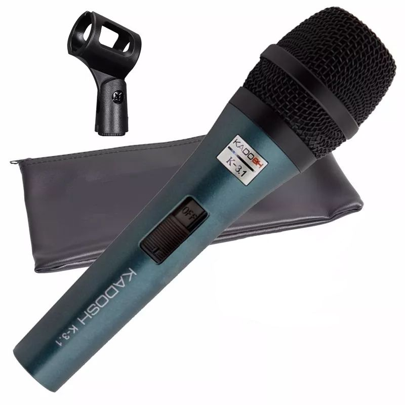 Microfone KADOSH Com Fio K-3.1