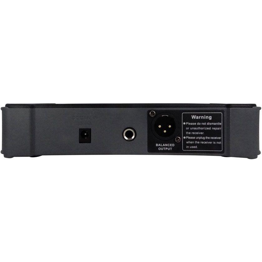 Microfone KADOSH Sem Fio de Mão UHF 16 Canais K-531M