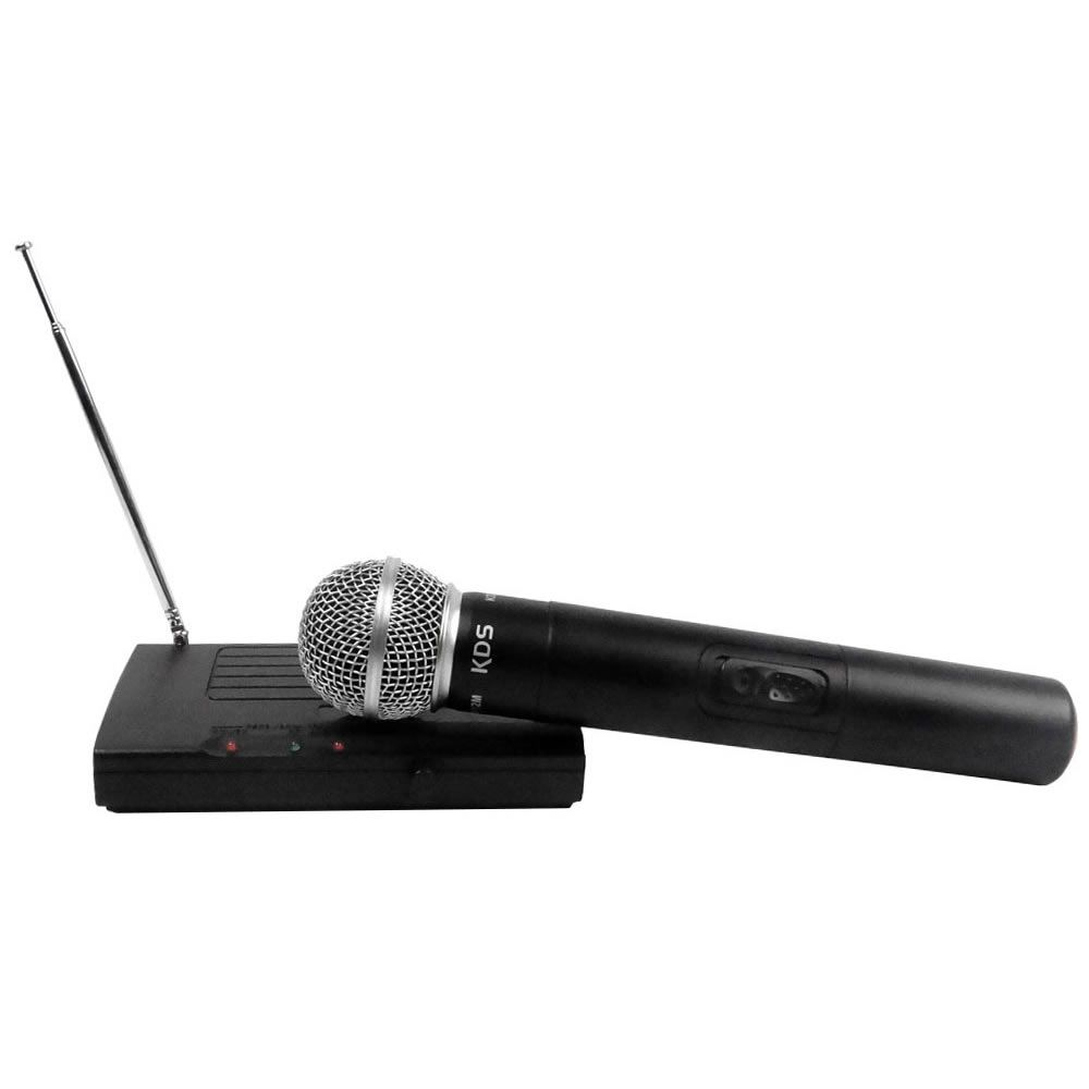 Microfone KADOSH Sem Fio Mão VHF K-231 M