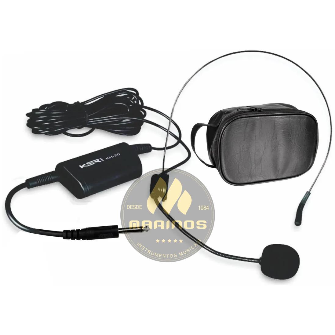 Microfone KSR Com Fio HEADSET KH20