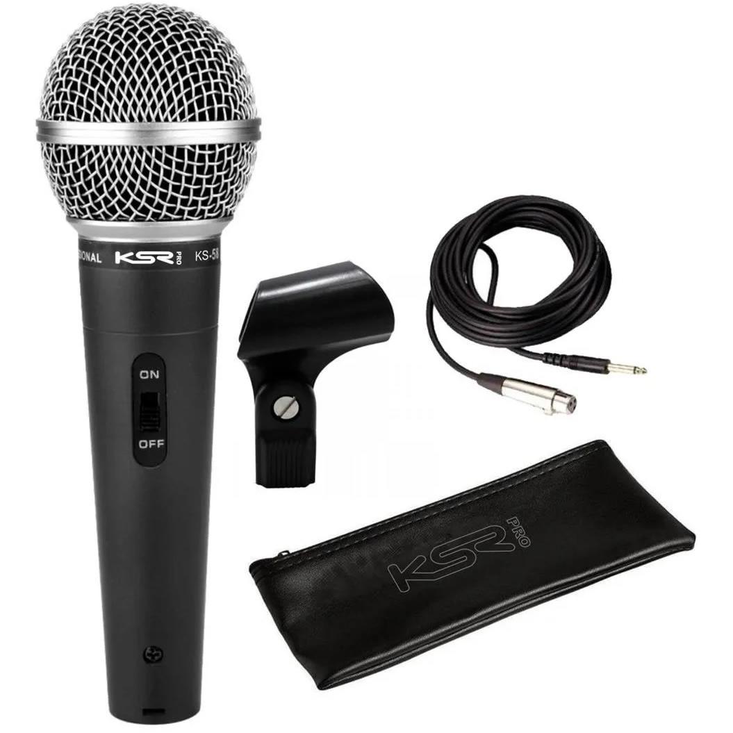 Microfone KSR Com Fio KS58