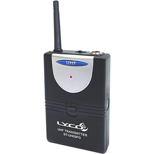Microfone LYCO Sem Fio Headset Lapela Instrumento UH03PG HLI