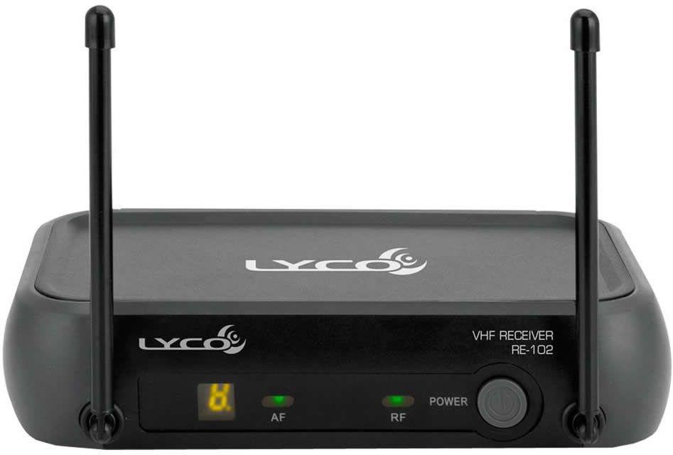 Microfone LYCO Sem Fio Mão VHF VH102PRO M