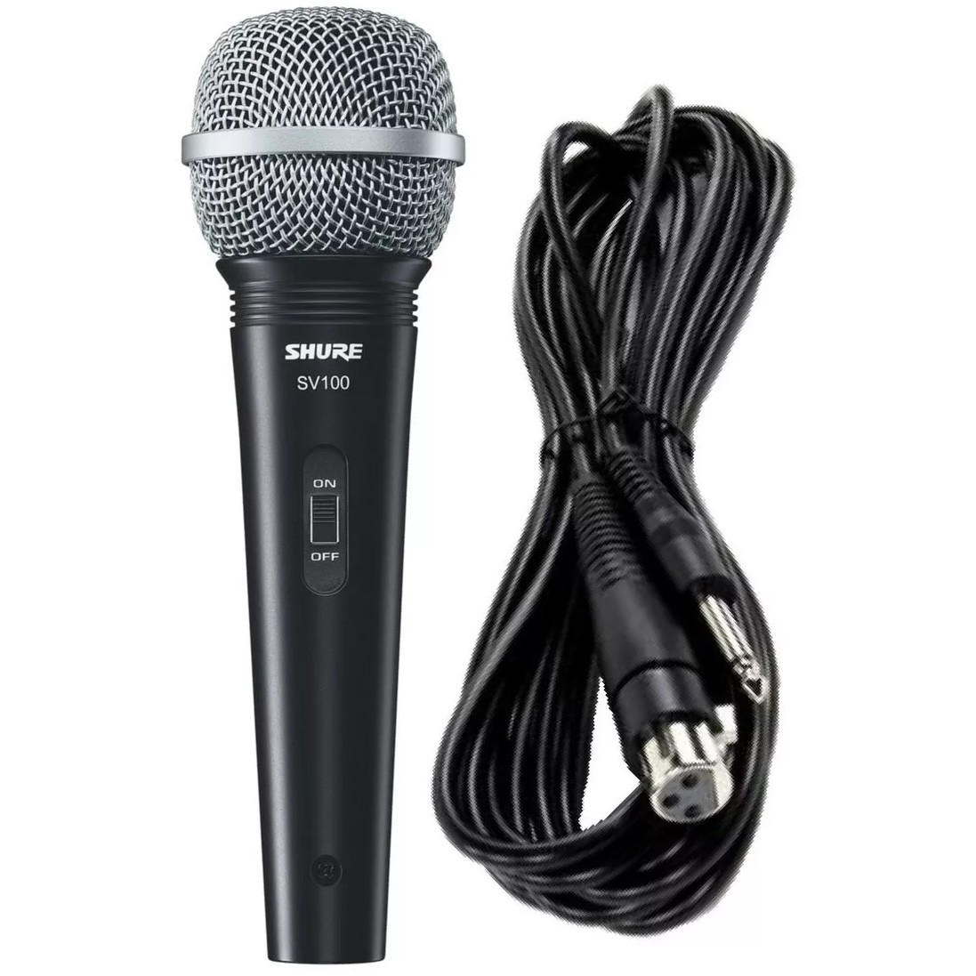 Microfone SHURE Com Fio SV-100