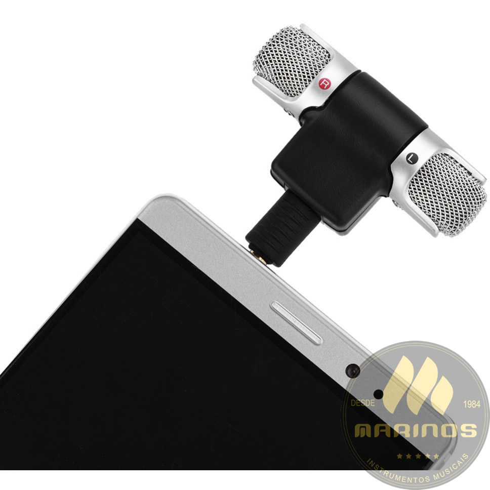 Microfone SOUNDVOICE Celular Estéreo LITE SOUNDCASTING 100