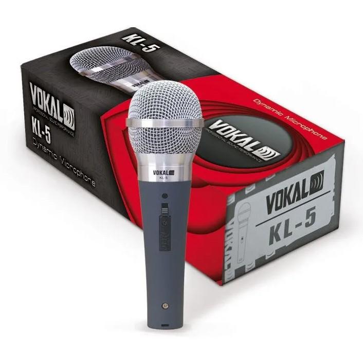 Microfone VOKAL Com Fio KL5