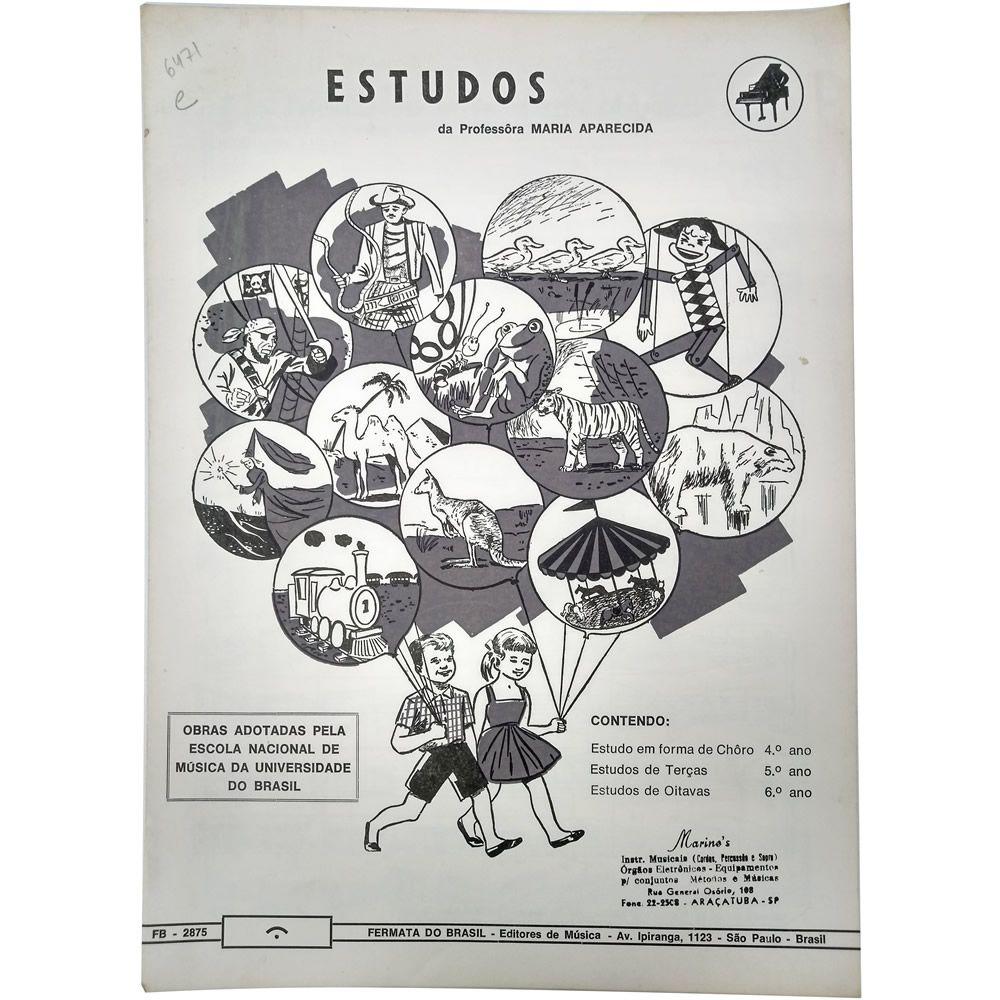 Música Avulsa Estudos da Professora Maria Aparecida