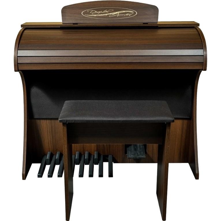 Órgão DIGITAL ACORDES Compacto Fosco PREMIUM MARROM