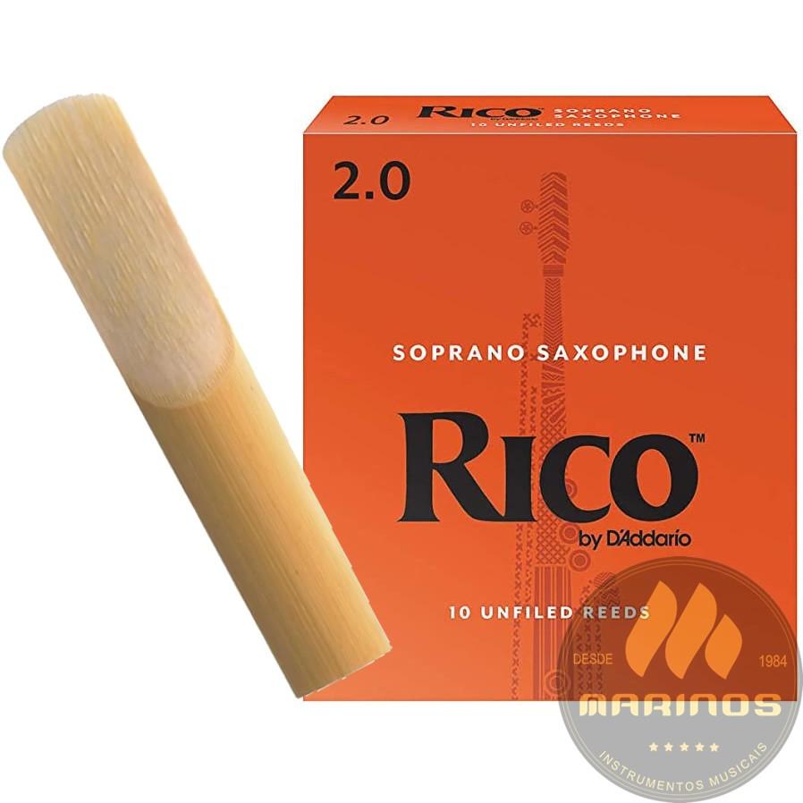 Palheta RICO REEDS Sax Soprano 2