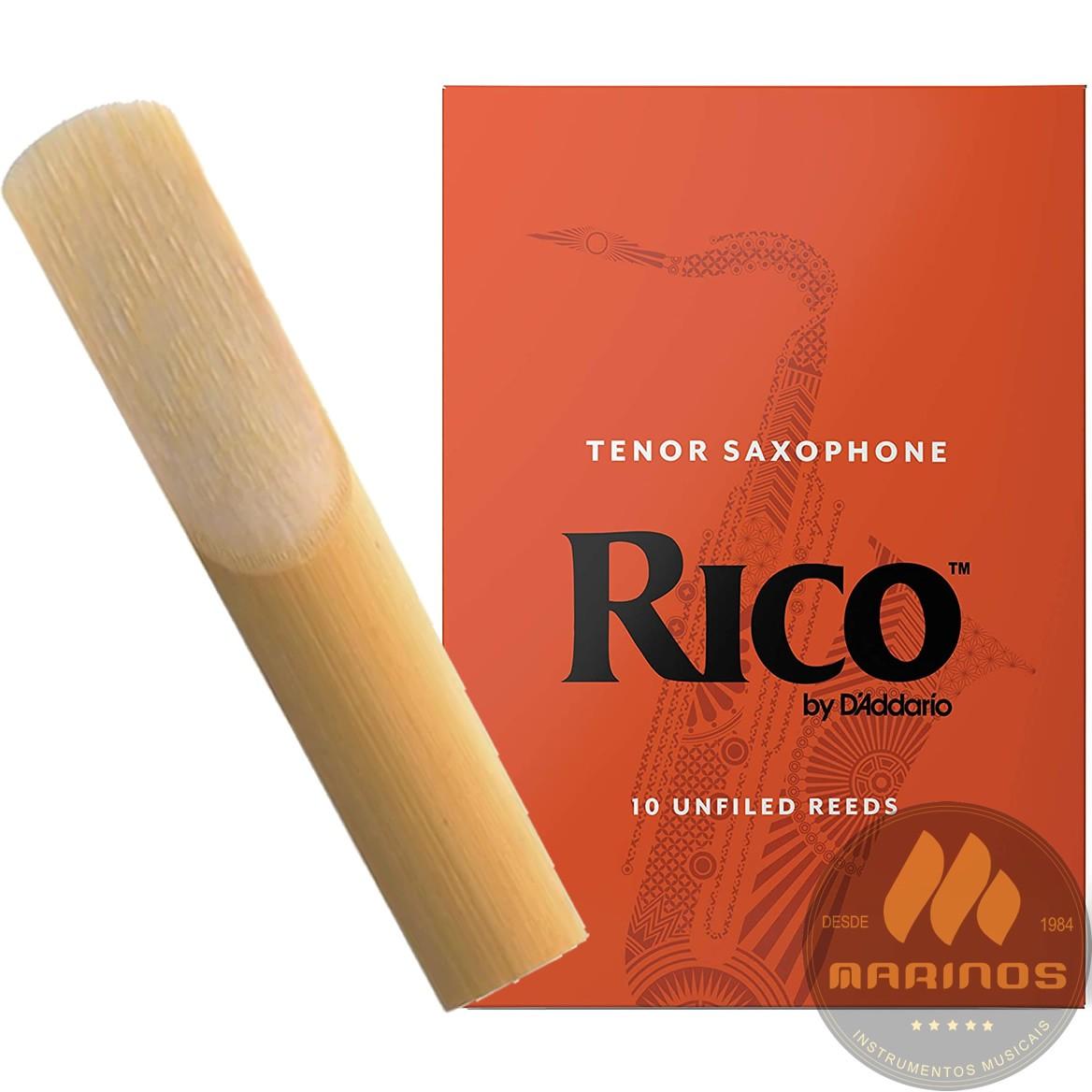 Palheta RICO REEDS Sax Tenor 2