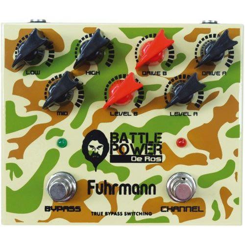Pedal Fuhrmann Guitarra Distorção De Ros DR01 Battle Power