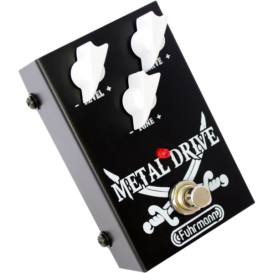 Pedal Fuhrmann Guitarra Distorção Metal Drive