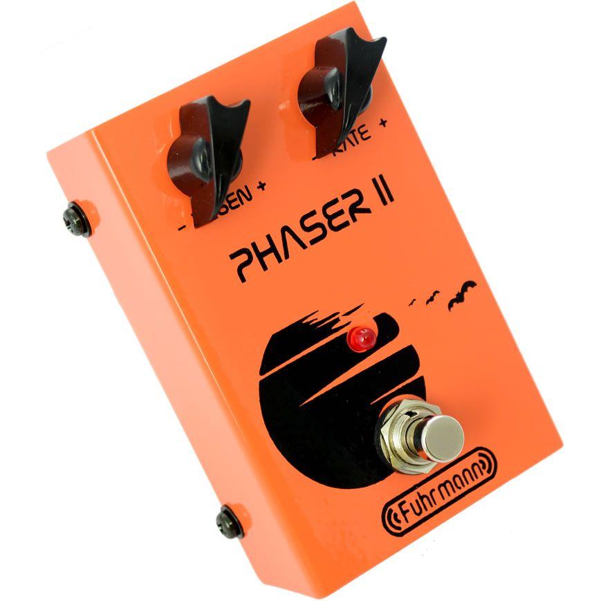 Pedal Fuhrmann Guitarra Violão Modulação PH02 Phaser II