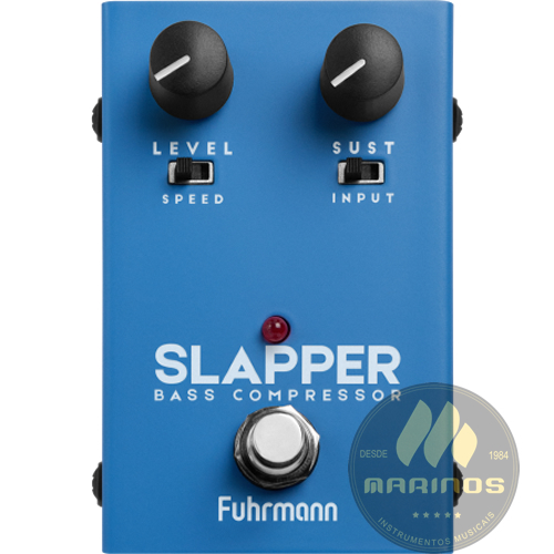 Pedal FUHRMANN SLAPPER Bass Compressor BS20