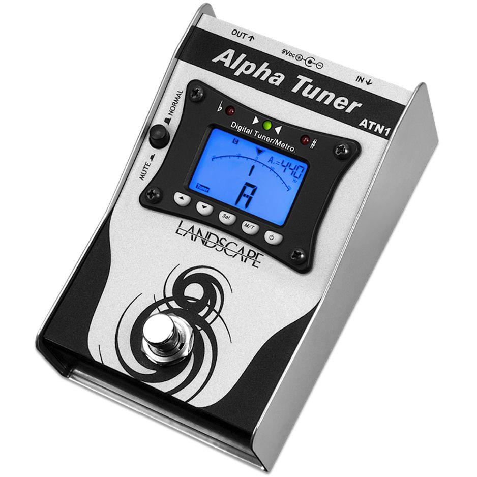 Pedal LANDSCAPE Afinador Alpha Tuner ATN1