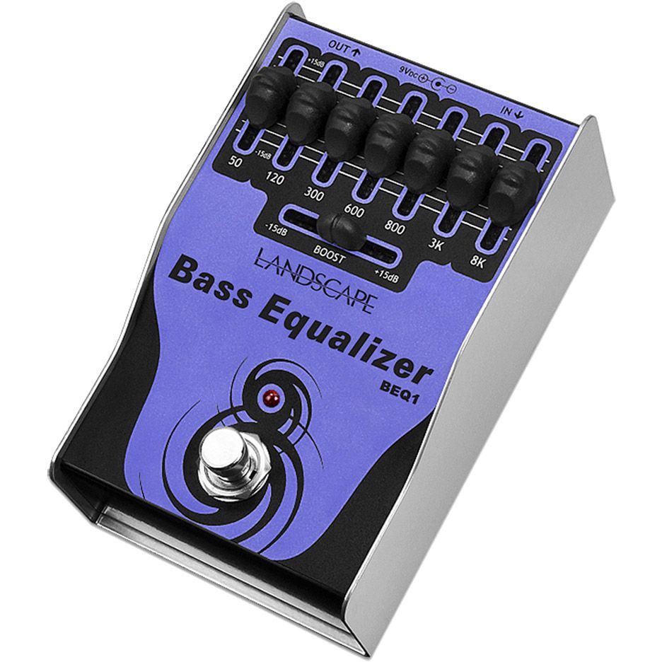 Pedal LANDSCAPE Contrabaixo Bass Equalizer BEQ1
