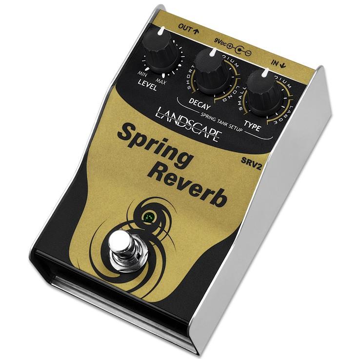 Pedal LANDSCAPE Guitarra Spring Reverb SRV2