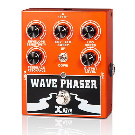 Pedal para Guitarra Contrabaixo Xvive Wave Phaser W1