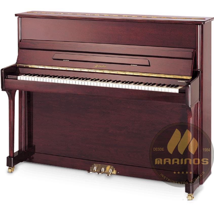 Piano Acústico Vertical Ritmuller Armário UP121