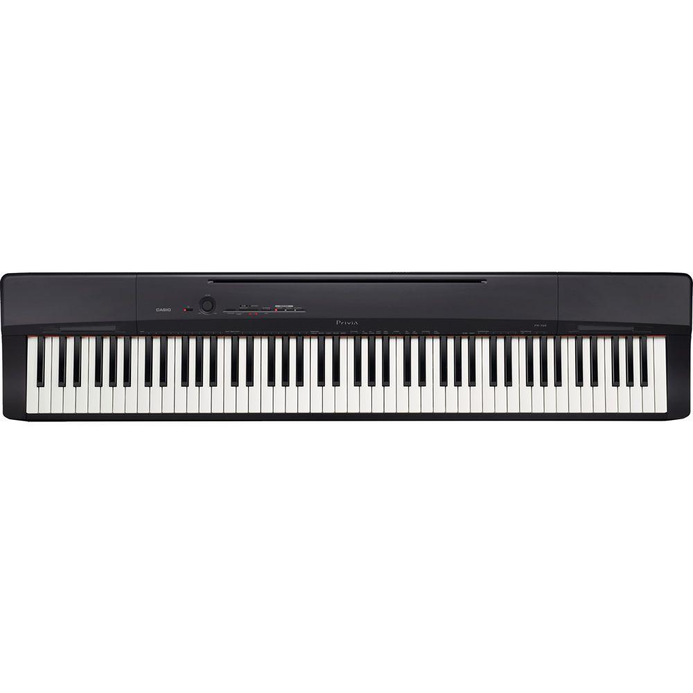 Piano CASIO Privia PX-160 BK Preto