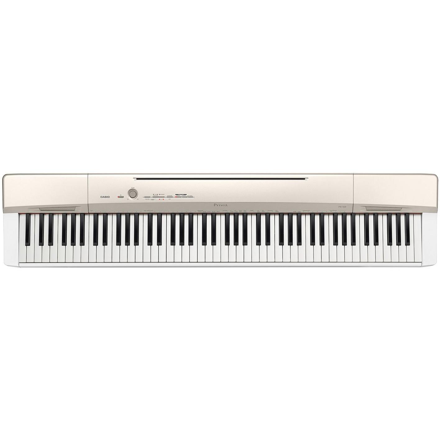 Piano CASIO Privia PX-160 GD Branco