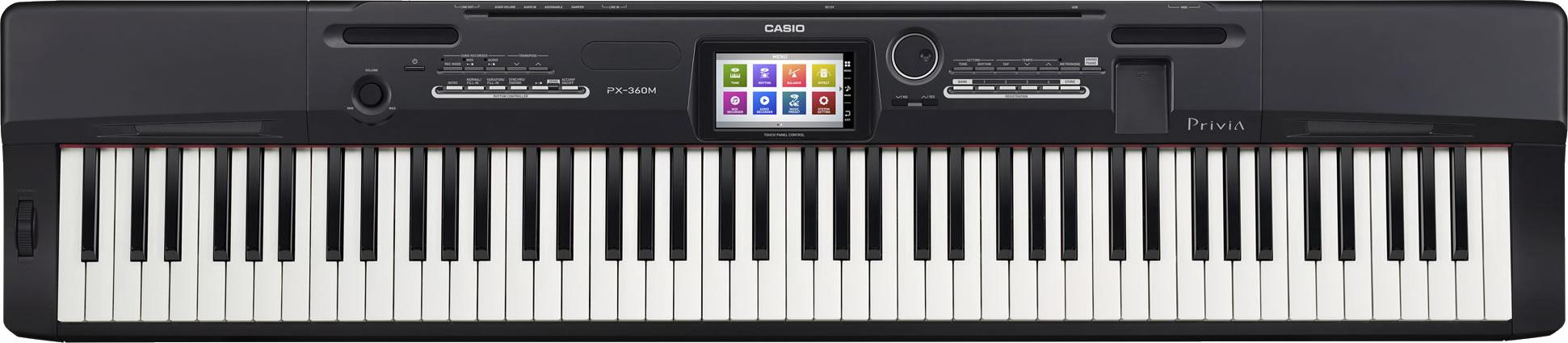 Piano CASIO Privia PX-360 MBK Preto