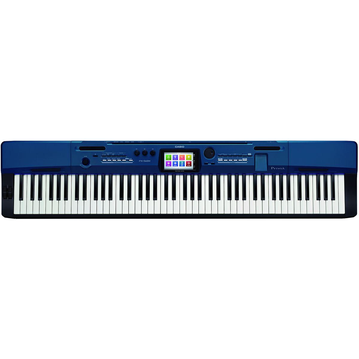 Piano CASIO Privia PX-560 MBE Azul