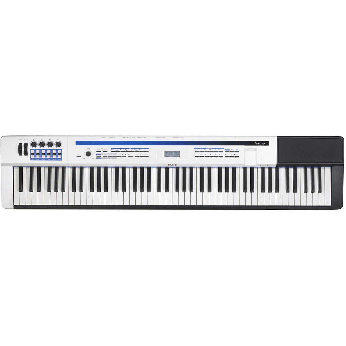 Piano CASIO Privia PX-5 Branco
