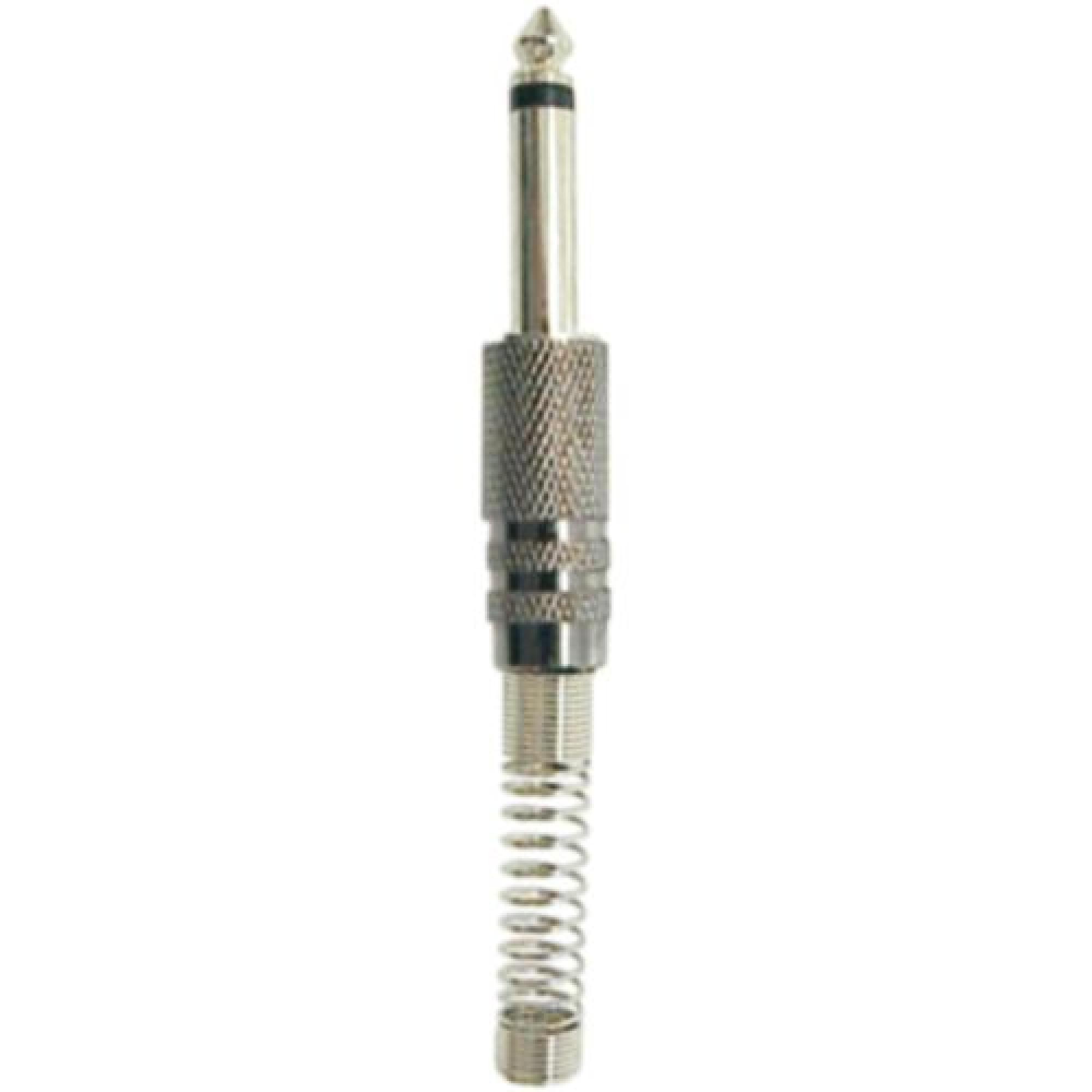 Plug GNR P10 Macho Mono SIMPLES Prata