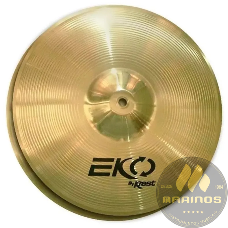 Prato KREST EKO Chimbal Hi-Hat 14