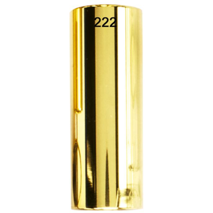 Slide DUNLOP Brass Latão Médio Curto Dourado 222