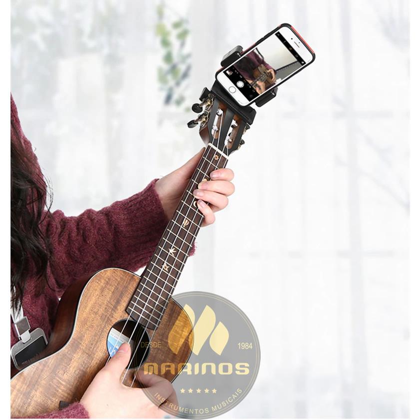 Suporte BECKER Smartphone Celular Headstock Mão Violão Instrumento XLA