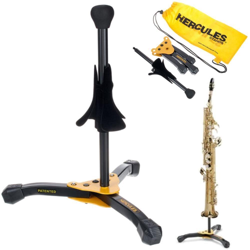 Suporte HERCULES Sax Soprano Flugelhorn DS531BB