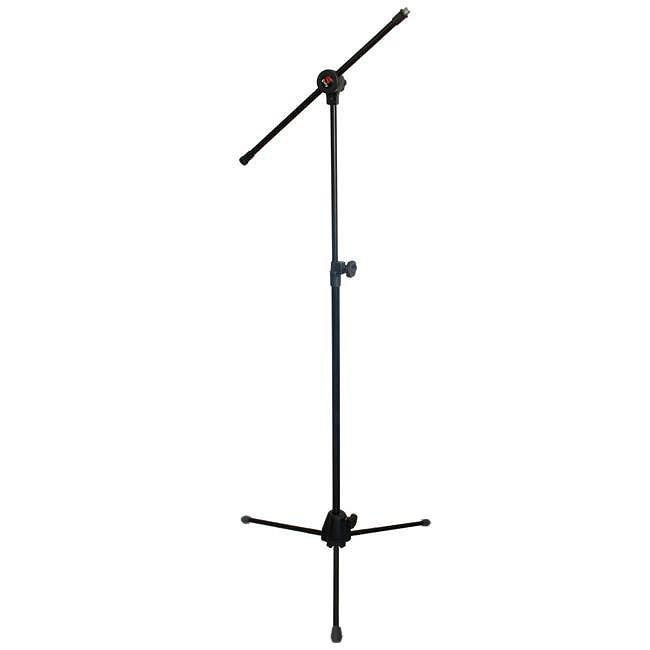 Suporte SATY Microfone GIRAFA Pé com Trava 1 ROSCA PMG10